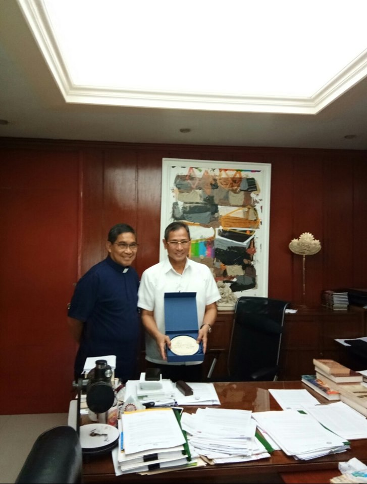 Adamson University President Visited the TUP
